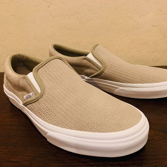 a8170bd106db Vans Women s Classic Slip-On Embossed Suede
